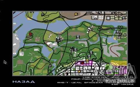 Situation de la vie 4.0 pour GTA San Andreas cinquième écran