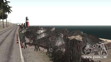 Route de réparation-Les Saints - Les entreprises pour GTA San Andreas quatrième écran