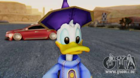 Kingdom Hearts 1 Donald Duck Disney Castle pour GTA San Andreas