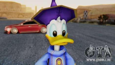 Kingdom Hearts 1 Donald Duck Disney Castle für GTA San Andreas