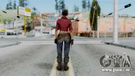 Misty - CoD Black Ops pour GTA San Andreas troisième écran