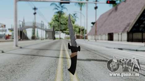 New Knife für GTA San Andreas