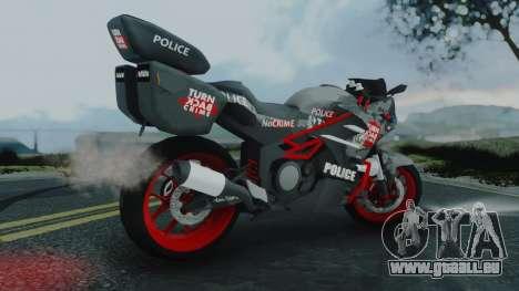 Bajidi R86 Police pour GTA San Andreas laissé vue