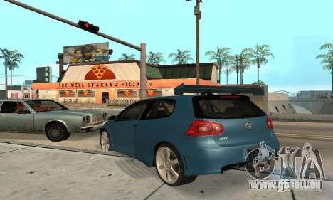 VW Golf R32 für GTA San Andreas rechten Ansicht