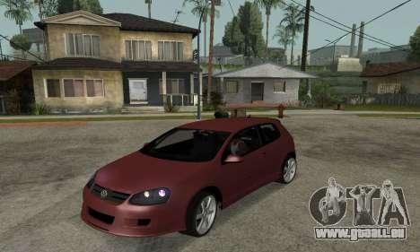 VW Golf R32 für GTA San Andreas
