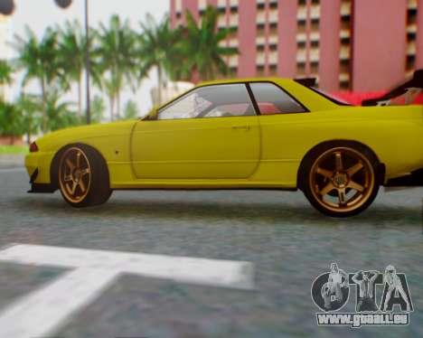 Nissan Skyline R32 GTR pour GTA San Andreas laissé vue