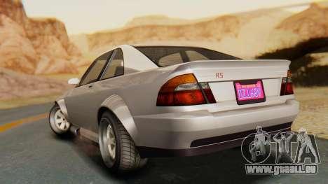 GTA 5 Karin Sultan RS für GTA San Andreas linke Ansicht