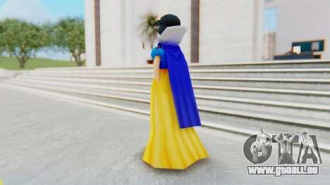 Snow White pour GTA San Andreas troisième écran