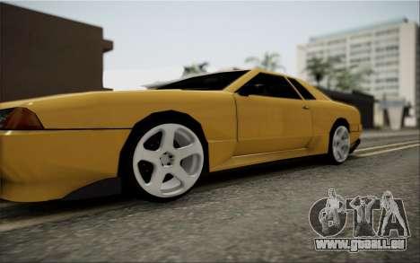 Elegy Speedhunters pour GTA San Andreas vue de droite