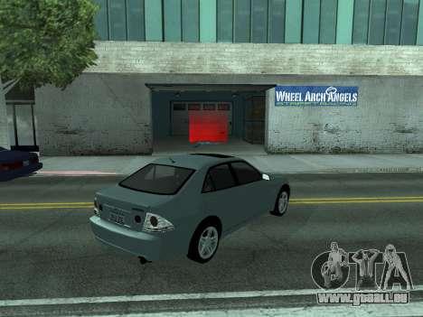 Toyota Altezza Tunable für GTA San Andreas linke Ansicht