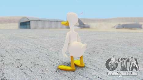 Kingdom Hearts 1 Donald Duck No Clothes pour GTA San Andreas troisième écran