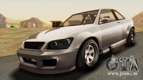 GTA 5 Karin Sultan RS pour GTA San Andreas vue de droite