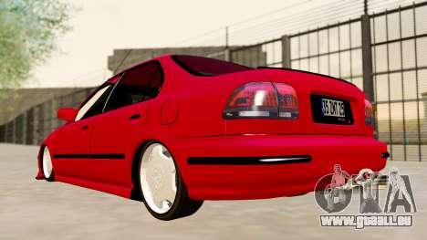 Honda Civic Sedan für GTA San Andreas linke Ansicht