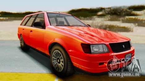 GTA 5 Vulcar Ingot IVF für GTA San Andreas rechten Ansicht