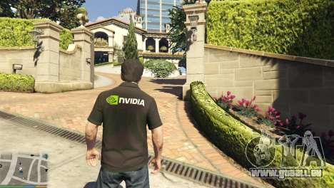 Nvidia-Polo-shirt für Michael für GTA 5