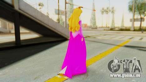 Sleep Beauty Aurora Pink pour GTA San Andreas troisième écran