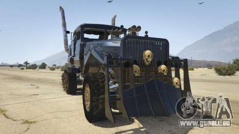 Mad Max The War Rig pour GTA 5