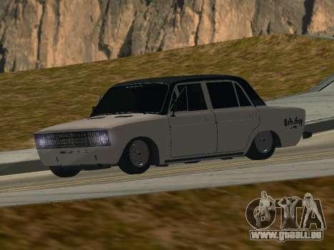 VAZ 2106 BUNKER pour GTA San Andreas