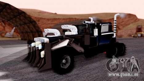 Mad Max The War Rig Bilge Tuning pour GTA San Andreas