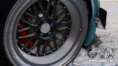 Nissan GT-R R35 Rocket Bunny v2 pour GTA San Andreas vue arrière