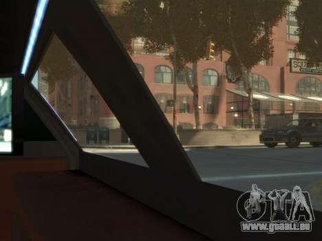 Taxi STRECH pour GTA 4 Vue arrière