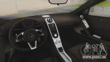 McLaren 650S Coupe Liberty Walk pour GTA San Andreas vue de côté