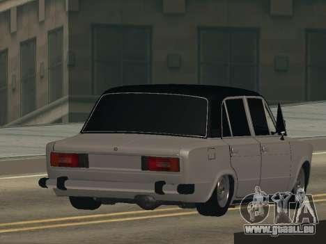 VAZ 2106 BUNKER pour GTA San Andreas laissé vue