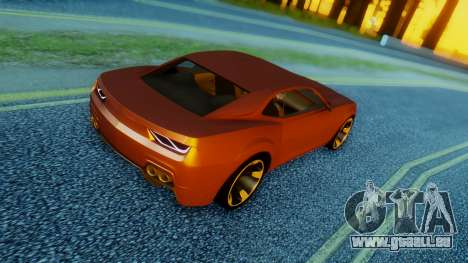 Chevrolet Camaro DOSH Tuning v2 für GTA San Andreas linke Ansicht