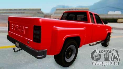GTA 5 Vapid Bobcat XL für GTA San Andreas linke Ansicht
