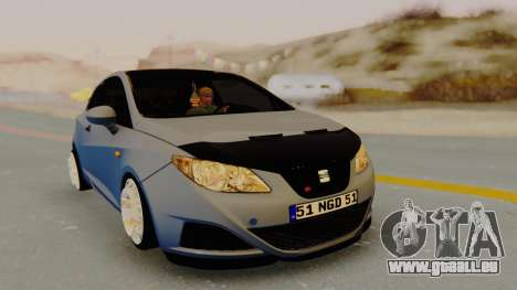 Seat Ibiza pour GTA San Andreas