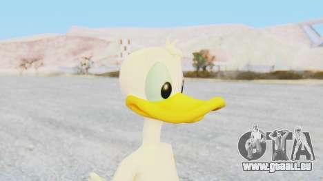 Kingdom Hearts 1 Donald Duck No Clothes pour GTA San Andreas