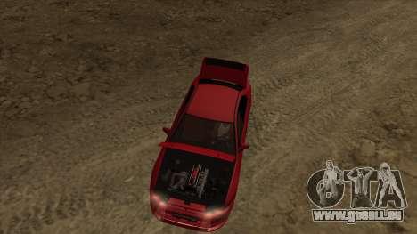 Mitsubishi Galant VR-4 (2JZ-GTE) für GTA San Andreas Rückansicht