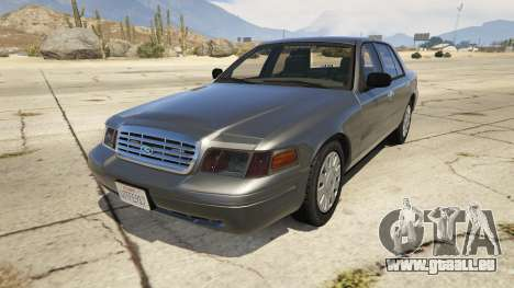 Ford Crown Victoria Detective pour GTA 5