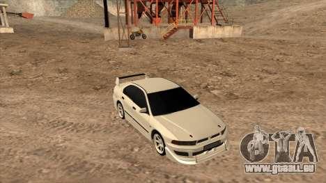 Mitsubishi Galant VR-4 (2JZ-GTE) pour GTA San Andreas vue de côté