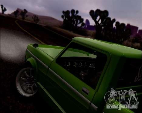 Sadler Debbie pour GTA San Andreas vue de dessous