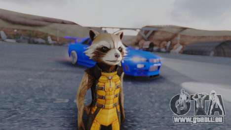 Marvel Future Fight - Rocket Raccon pour GTA San Andreas