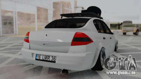 Renault Megane Sedan für GTA San Andreas linke Ansicht