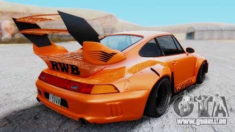 Porsche 993 GT2 RWB GARUDA für GTA San Andreas rechten Ansicht