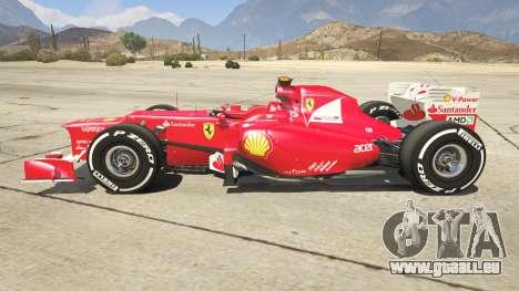 GTA 5 Ferrari F1 linke Seitenansicht