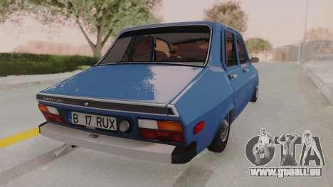 Dacia 1310 TX 1984 pour GTA San Andreas laissé vue