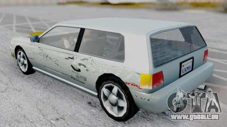 Flash F&F3 Silvia PJ für GTA San Andreas zurück linke Ansicht
