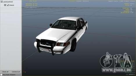 GTA 5 FBI Ford CVPI rechte Seitenansicht