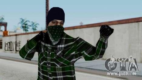 New Fam2 pour GTA San Andreas