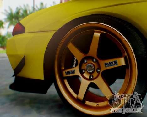 Nissan Skyline R32 GTR pour GTA San Andreas moteur