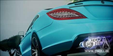 Mercedes-Benz CLS 63 BRABUS pour GTA San Andreas vue intérieure