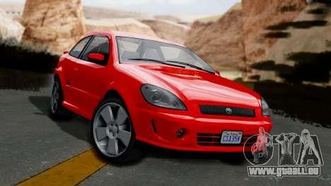 GTA 5 Declasse Premier Coupe IVF für GTA San Andreas
