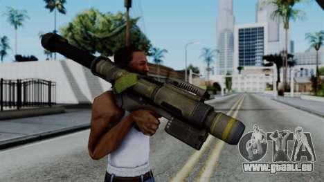 CoD Black Ops 2 - FHJ-18 pour GTA San Andreas troisième écran