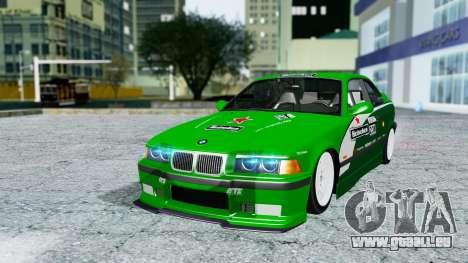 BMW M3 Coupe E36 (320i) 1997 pour GTA San Andreas salon