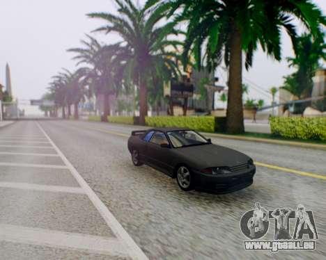 Nissan Skyline R32 GTR pour GTA San Andreas vue arrière