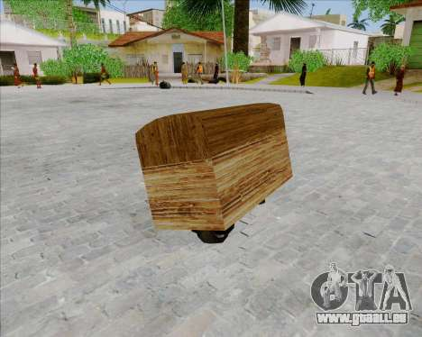 Faggio Sunduk pour GTA San Andreas laissé vue
